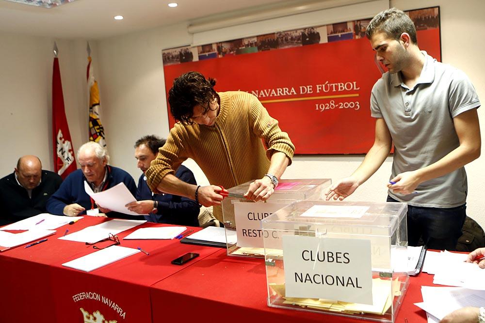 A: EDUARDO BUXENSF: 22 FEBRERO 2016L: PAMPLONAT: ELECCIONES FEDERACION NAVARRA DE FUTBOL