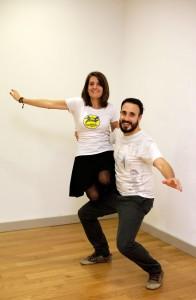 Aurora Gil y Sergio Alberdi