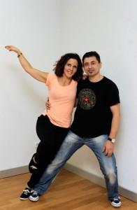 Cristina Urdániz y Patxi Olóriz